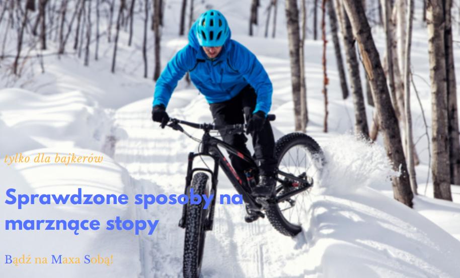 Zimno w stopy] co można z tym zrobić Odzież rowerowa