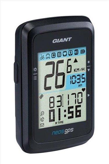 Licznik Giant Neos GPS, bez czujnika, czarny